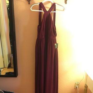 Lulu's Dresses - NWT Lulu's Burgundy / Maroon Formal Dress